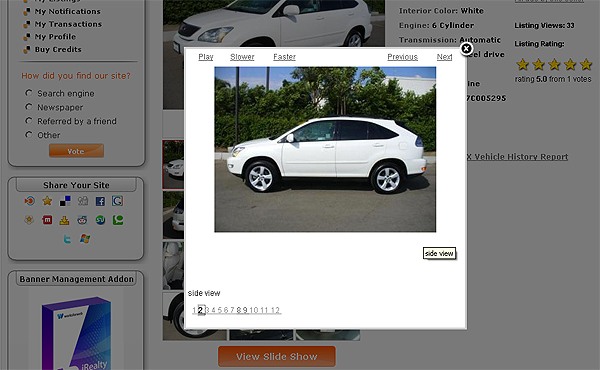 Slideshow Feature - Slideshow Player for iAuto