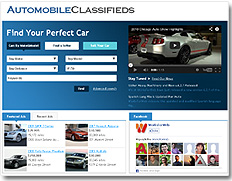 Automobile Sales Website